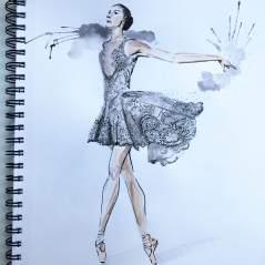 Zuhair Murad's design for New York City Ballet
