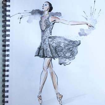 Zuhair Murad's design for New York City Ballet